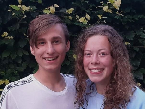 Hester en Matthias geselecteerd voor regioteam Oost