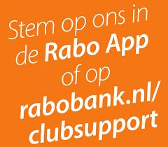 We doen weer mee met Rabo ClubSupport!